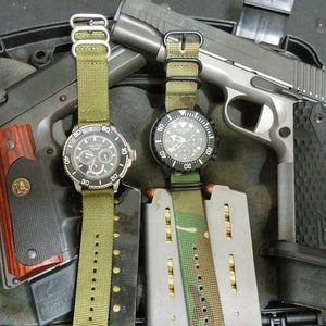 PVD Zulu Strap 5-ring Camouflage - Cheapest NATO Straps  - 9