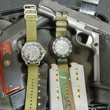 Smart Watch Strap Olive - Cheapest NATO Straps  - 3