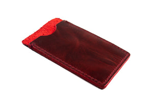 Card Holder Oxblood
