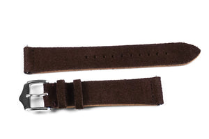 Heritage Suede Chocolate Brown