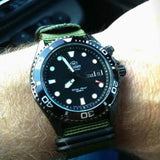 Extra Long PVD Zulu Strap 5-ring Khaki Green - Cheapest NATO Straps  - 12