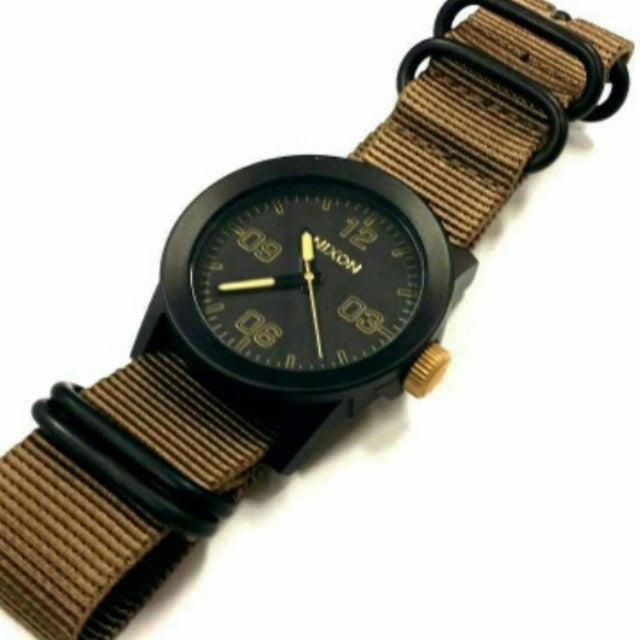 Extra Long PVD Zulu Strap 5-ring Khaki - Cheapest NATO Straps  - 4