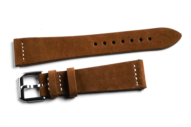 Tapered Heritage Brown Nubuck