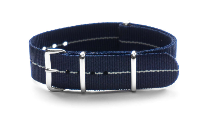 NATO Strap Marine Nationale Baltic (18, 19 & 21 mm)