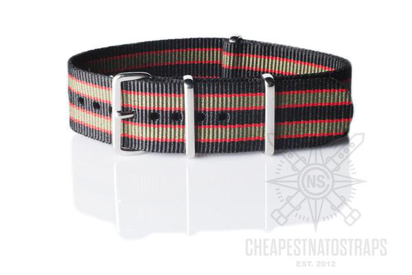 NATO Regimental Strap James Bond Vintage