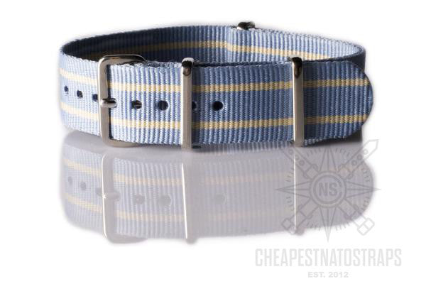 NATO Strap Light Blue and Beige