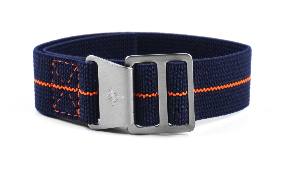 Paratrooper Strap Navy and Orange