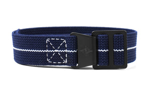 Paratrooper PVD Strap Navy and white