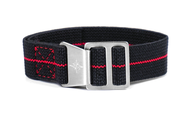 Paratrooper Strap Black and Red