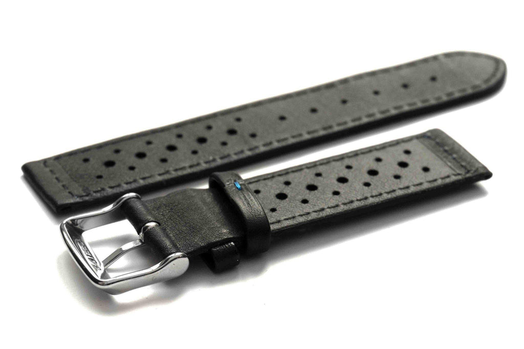 Monte Carlo Black with blue stitching - Cheapest NATO Straps  - 2