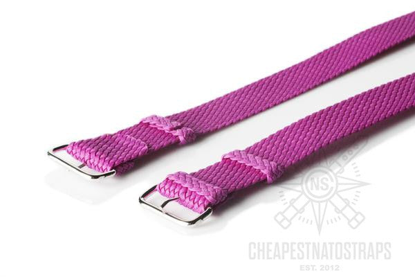 Perlon strap purple