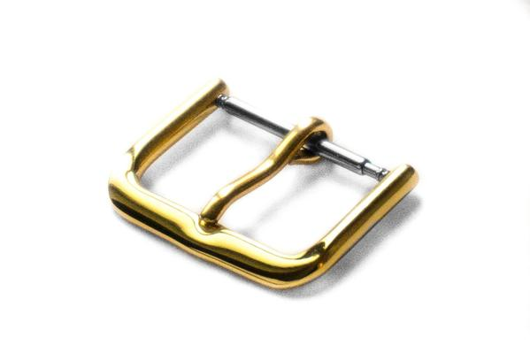 Thin Polished Gold Buckle