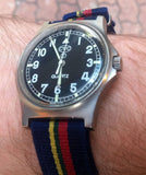 NATO Regimental Strap Blue, red, green and yellow - Cheapest NATO Straps  - 5