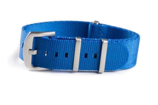 Budget Seat Belt NATO strap Blue (20 & 22 mm)