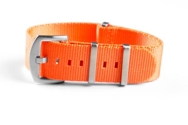 Budget Seat Belt NATO strap Orange (20 & 22 mm)