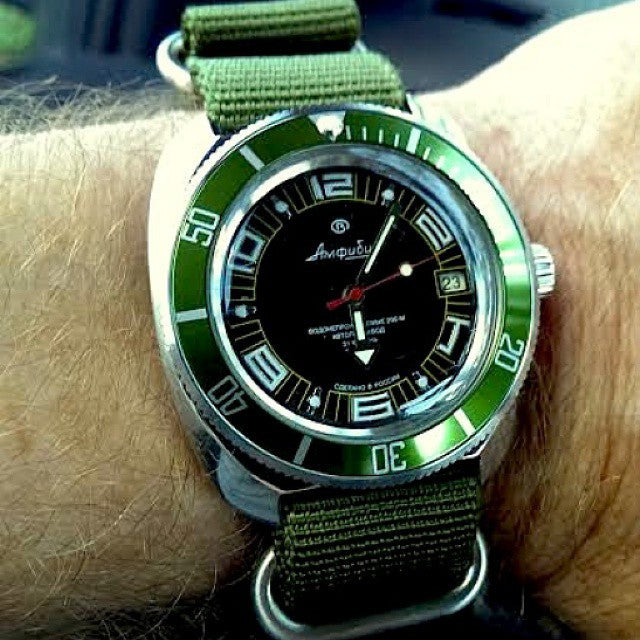 Extra Long Zulu strap SS 5-ring Khaki Green - Cheapest NATO Straps  - 10