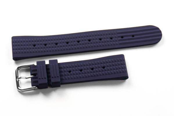 Rubber Waffle Strap Navy