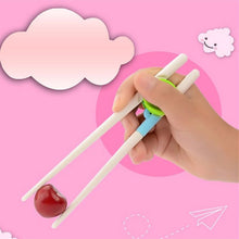 Afbeelding in Gallery-weergave laden, 1 Pair Chopsticks for  Baby/Kids