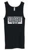 Ladies BIGBANG ROLL CALL STRIPE TANK TOP