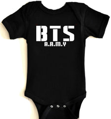 BTS A.R.MY INFANTRY Baby Onesies