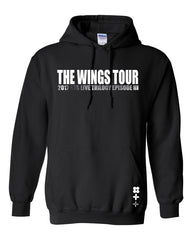 BTS WINGS PLATINUM TOUR HOODIE LIMITED EDITION L.D. INSPIRED