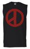 MEN'S G-DRAGON SLEEVELESS (NEW LOGO RED INK)