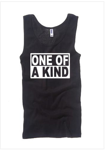Ladies G-DRAGON (ONE OF A KIND)  BLACK TANK TOP