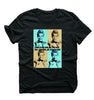 Men's G Dragon Multi Color T-Shirt
