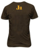 Men's GOT7 TSHIRT (MEMBERS NAME ON BACK) GOLD INK