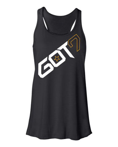 Ladies GOT7 FLOWY TANKTOP (YOUNGJAE)