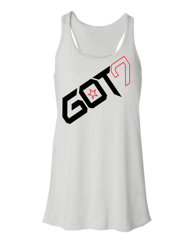 Ladies GOT7 FLOWY TANKTOP (MARK)