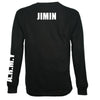 MEN'S BTS ARMY LONGSLEEVE T-SHIRT (MEMBERS NAME ON BACK)