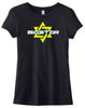 LADIES BIGSTAR LOGO (BLACK)