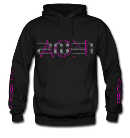 NEW 2NE1 AON PINK (DOM ON BACK) HOODIE