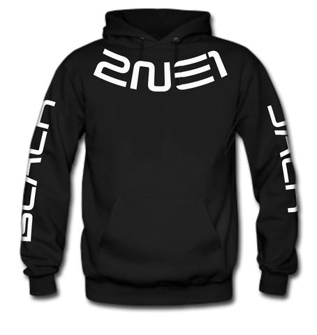 2NE1 (BLACKJACK ON SLEEVES) HOODIE
