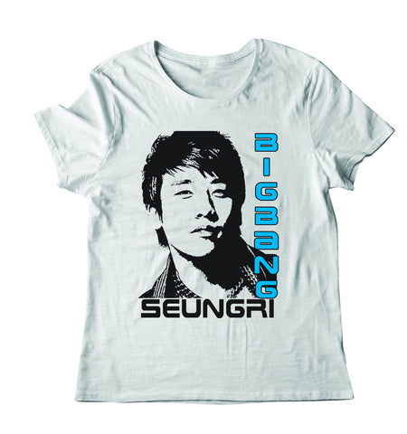 Men's Seungri Stamp Full T Shirt Print