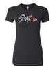 Ladies STRAYKIDS TSHIRT WTH RED FOIL (MEMBERS NAME ON BACK)