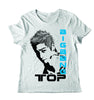 Men's TOP Stamp Full T Shirt Print