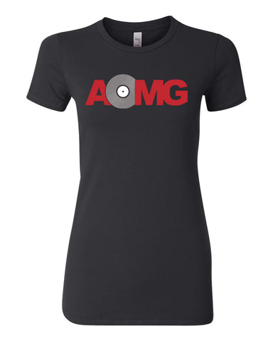 Ladies AOMG RECORD T-SHIRT
