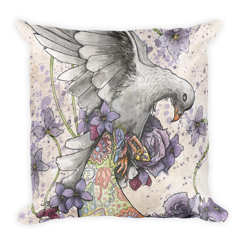 Purple Reign Throw Pillow