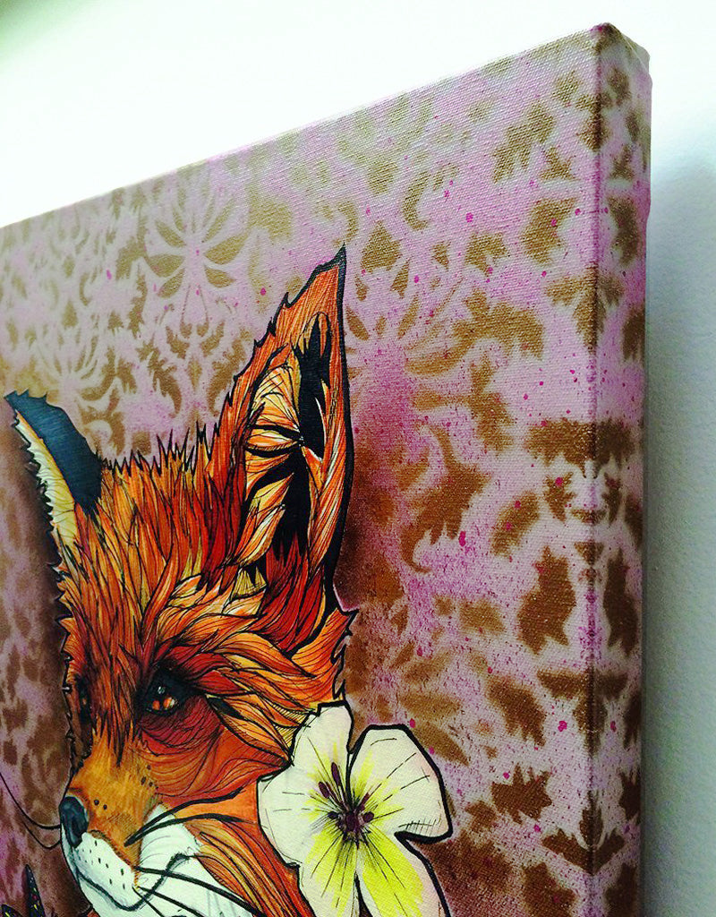 """Mr. Fox"" Canvas"