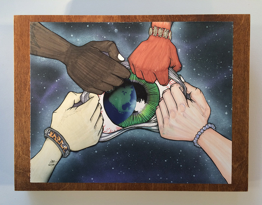 See the World on Chestnut Panel