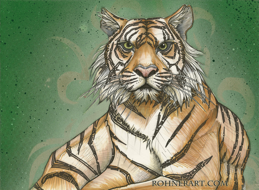 Sumatran Tiger Sticker