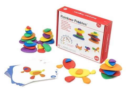 Rainbow Pebbles Set Box Set