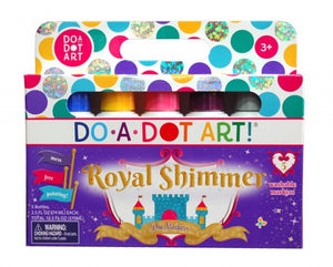Do-A-Dot Art Markers - Royal Shimmer 5 Pack