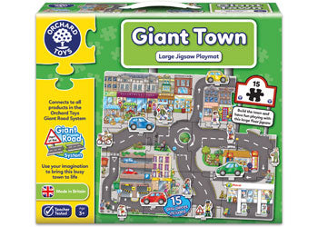 Orchard Jigsaw - Giant Town Puzzle