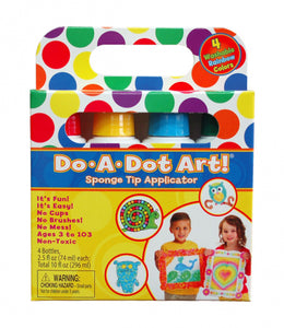 Do-A-Dot Art Markers - Rainbow 4 Pack