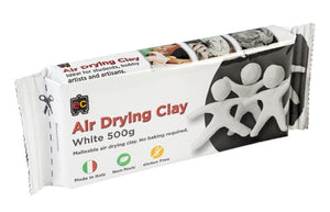 Air Drying Clay - White 500g