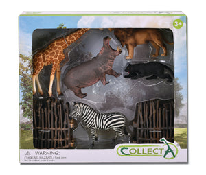 CollectA - Wild 6 Piece Gift Set
