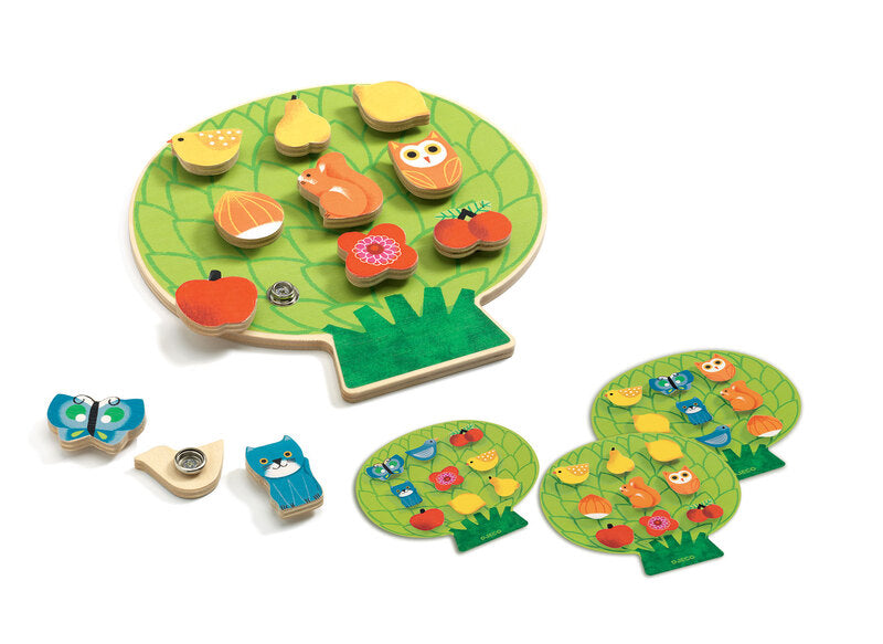 Clipaclip Wooden Game